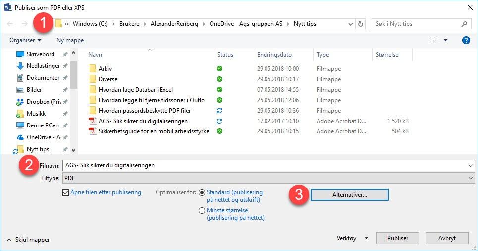 Hvordan passordbeskytte PDF filer 2b