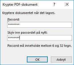 Hvordan passordsbeskytte PDF filer 4