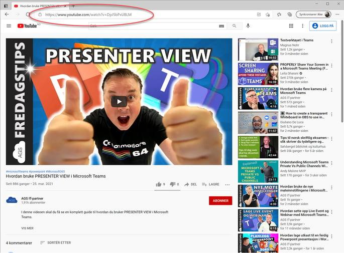 Hvordan sette inn video i Word 4