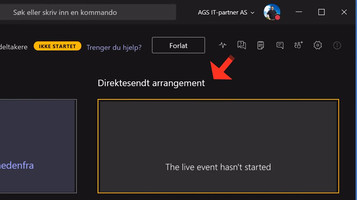 Hvordan sette opp Live Event og Webinar med Microsoft Teams 08