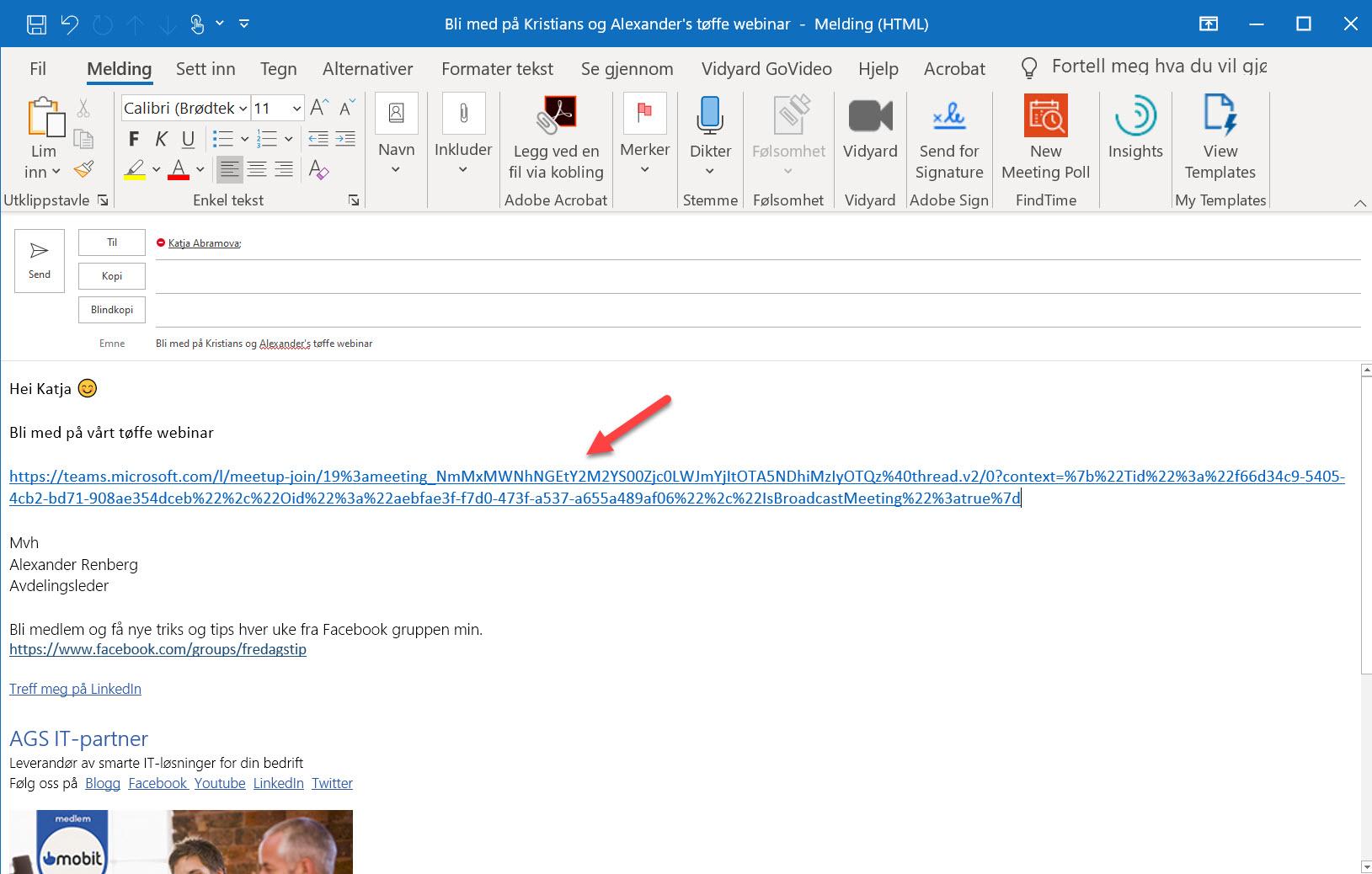 Hvordan sette opp Live Event og Webinar med Microsoft Teams 8