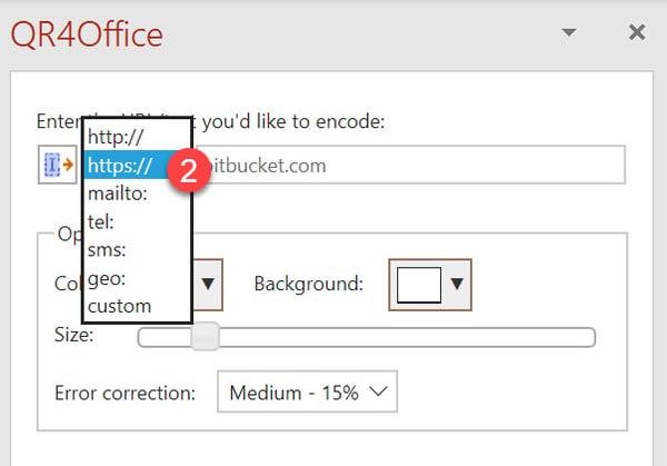 Microsoft 365 - Hvordan lage QR kode GRATIS i Word og PowerPoint 6