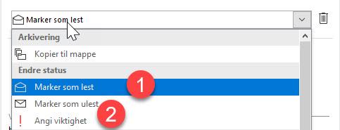 Outlook triks - Hvordan lage til oppfølging funksjon i Outlook 6
