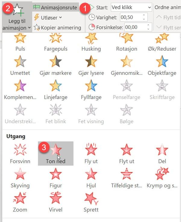 Slik bruker du farger i PowerPoint for å fremheve informasjon 8