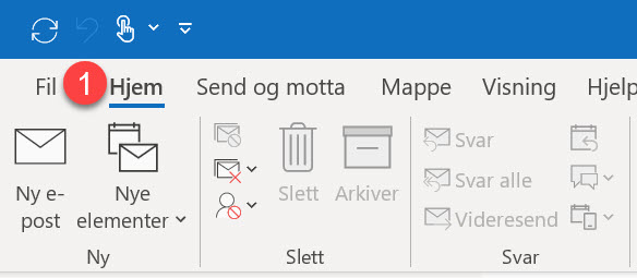Slik bruker du forbedret dark mode i Outlook 1
