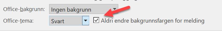 Slik bruker du forbedret dark mode i Outlook 11