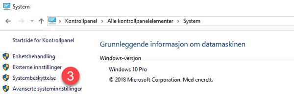 Slik kan Windows systemgjenoppretting redde dagen din 3