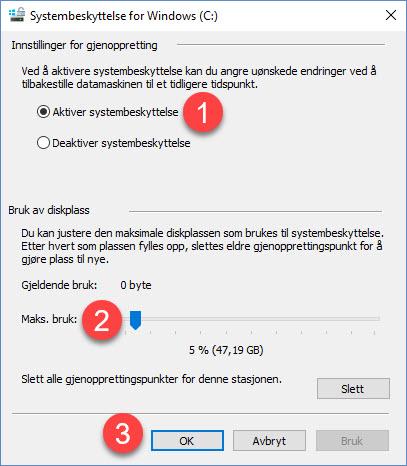 Slik kan Windows systemgjenoppretting redde dagen din 4