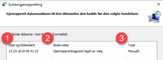 Slik kan Windows systemgjenoppretting redde dagen din 8