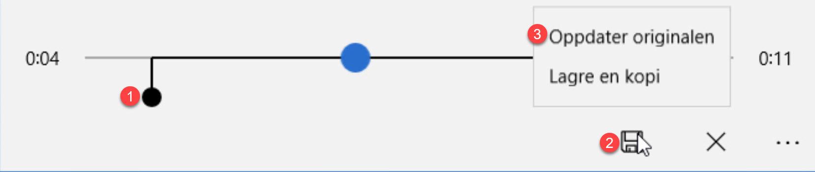 Slik lager du taleopptak til tilbud GRATIS i Windows 10 7