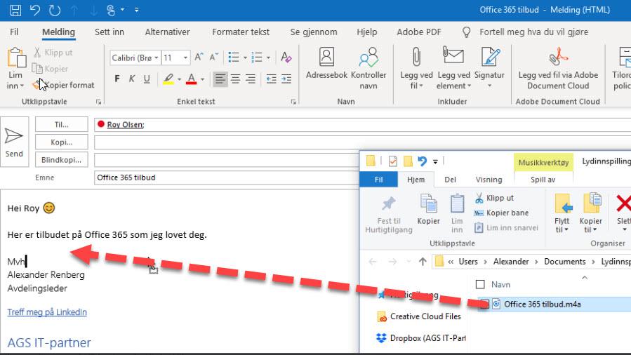 Slik lager du taleopptak til tilbud GRATIS i Windows 10 8