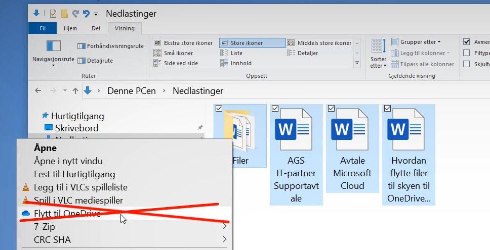 Hvordan flytte filer til skyen med OneDrive eller Dropbox 6