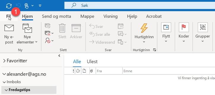 Hvordan lage automatisk pause mellom møter i Outlook. 1