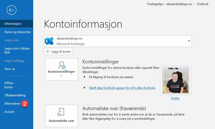 Hvordan lage automatisk pause mellom møter i Outlook. 2