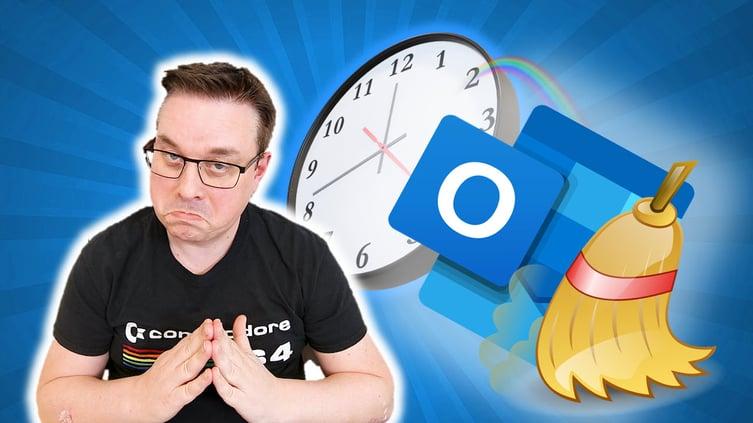 Hvordan legge automatisk pause mellom møter i Outlook