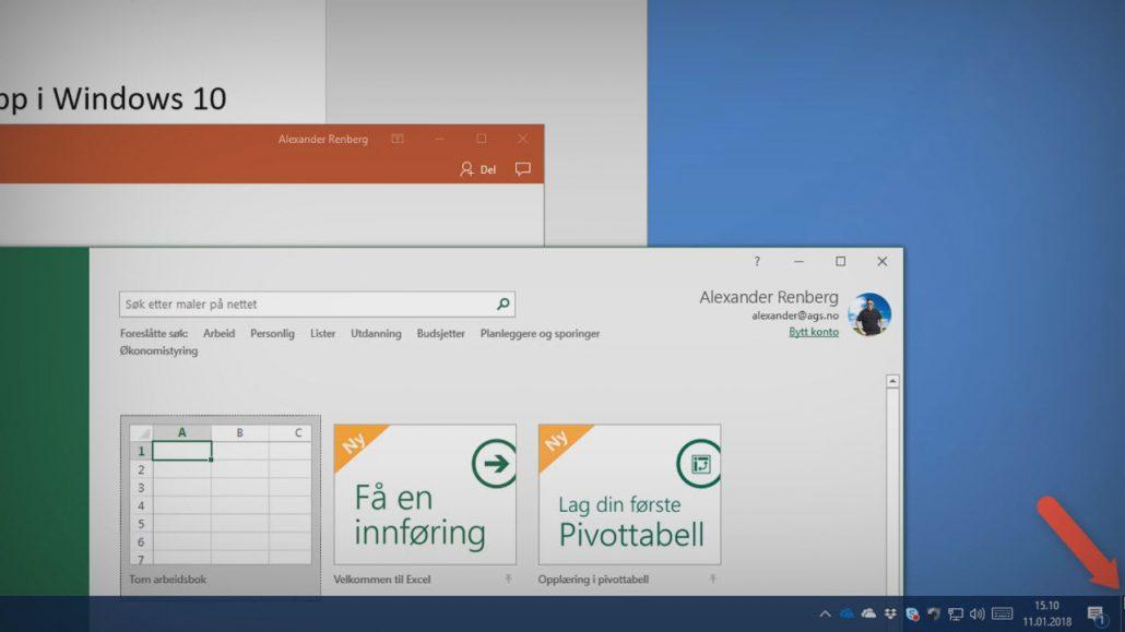 Slik finner du den hemmelige knappen i Windows 10 t