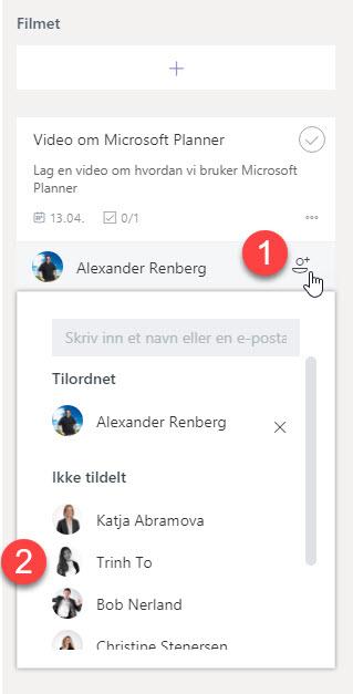 Hvordan bruke Microsoft Planner 5