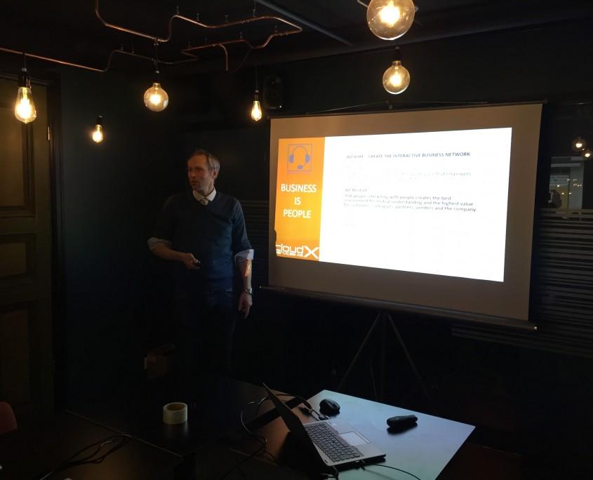 Jan Solvang fra CloudX viste oss hvordan man kan kombinere Office 365 og telefoni