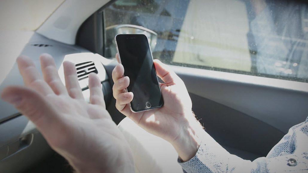 Pass på mobilen i sommer sola