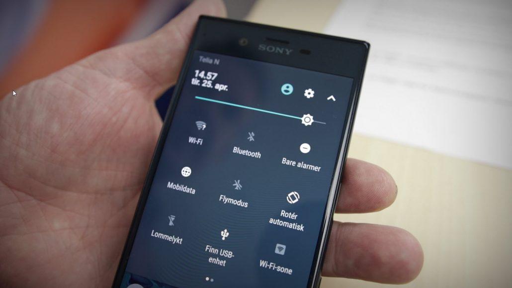 Snarevei til instillinger på Iphone og Android Thumb Bilde