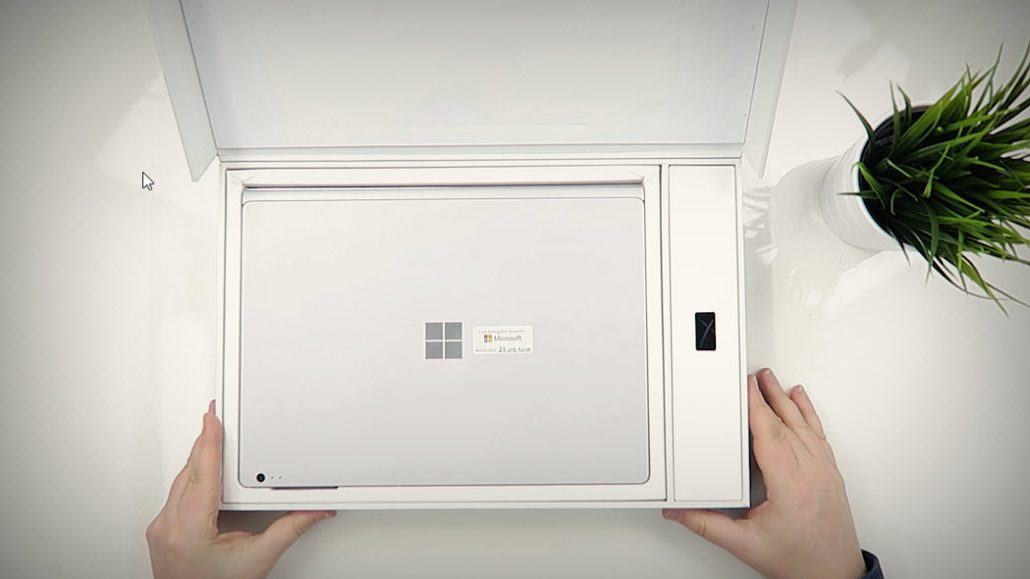 Unboxing Microsoft Surface Book