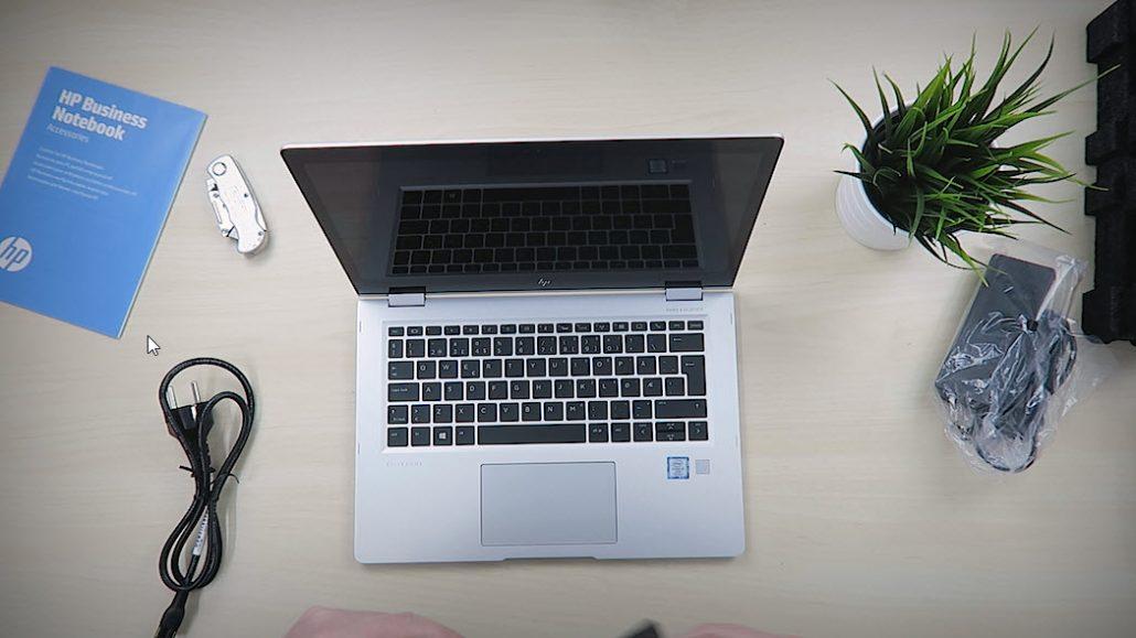 Unboxing og test HP Elitebook x360 3