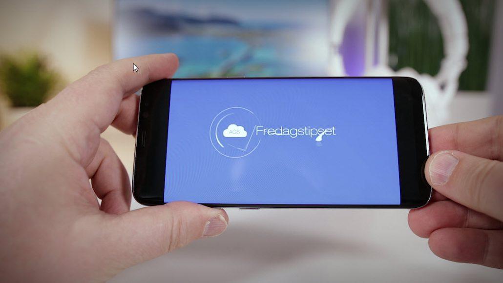 Unboxing og test av Samsung Galaxy S8 3