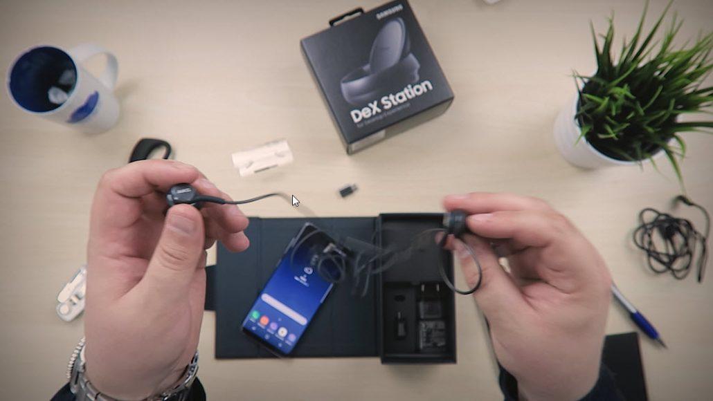 Unboxing og test av Samsung Galaxy S8 4