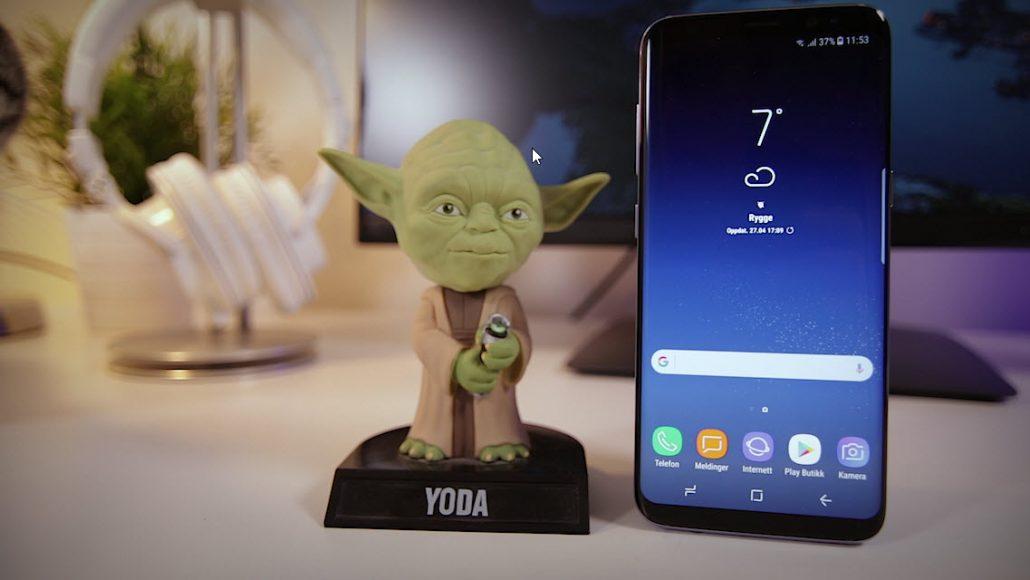 Unboxing og test av Samsung Galaxy S8