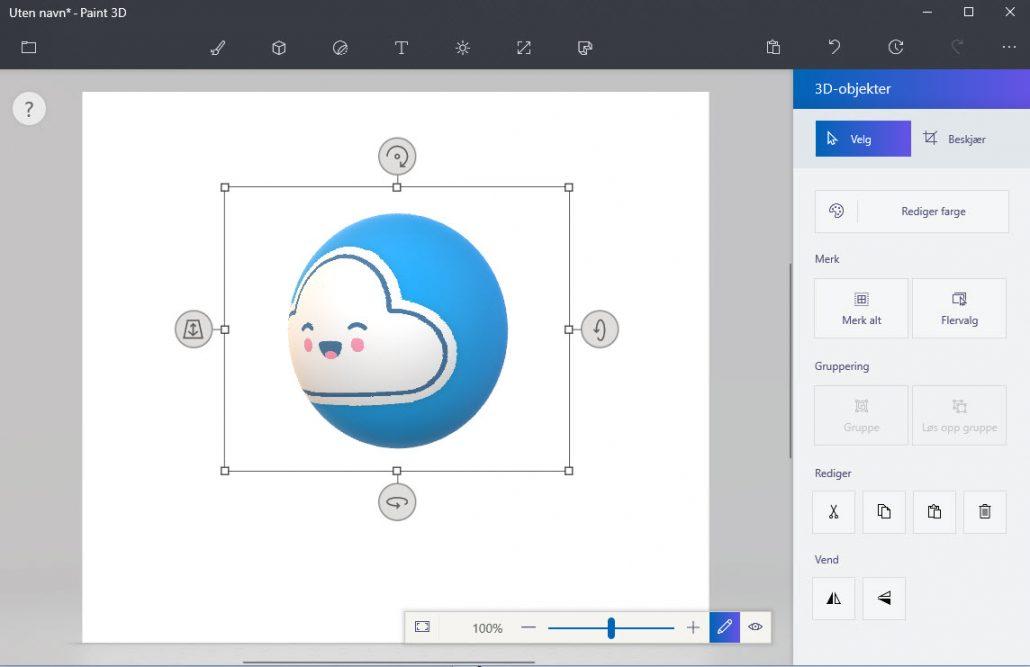 Windows Paint 3D for Windows 10