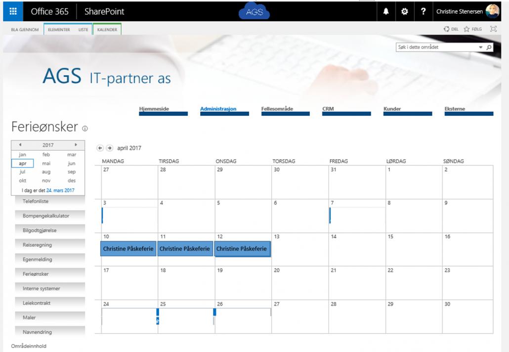 Sharepointmodul i office 365