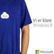 Vi er klare for Windows8