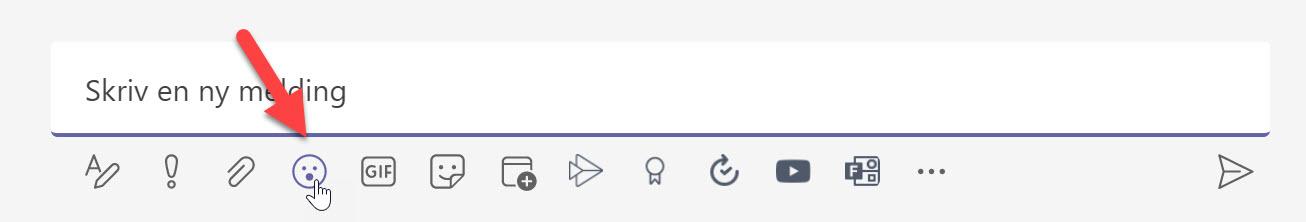 Nyhet! - Over 800 Emojis i Microsoft Teams 2