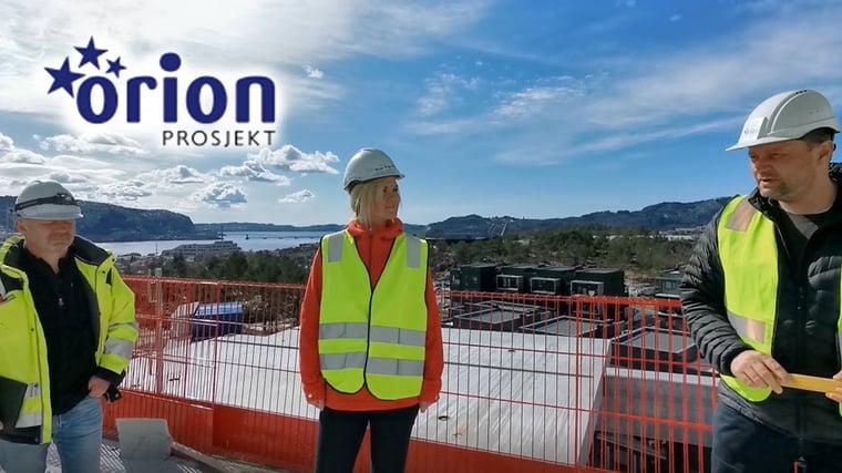 Orion Prosjekt månedens digitaliseringskunde