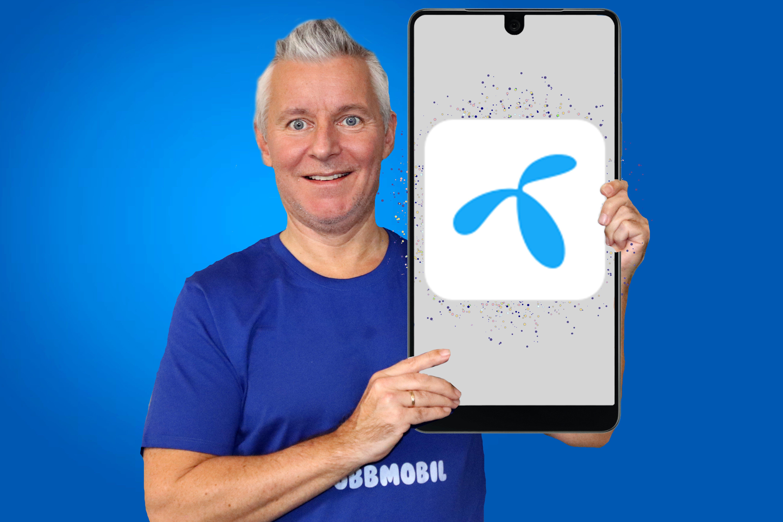Tre supre Telenor Apper 3.