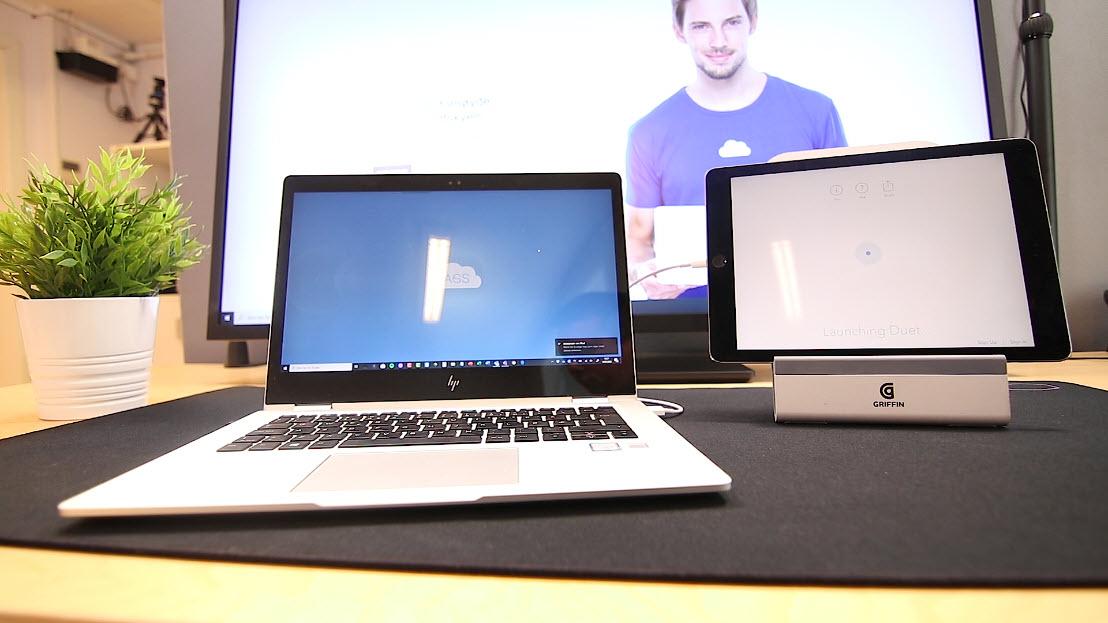 hvordan bruke ipad som ekstra PC skjerm 5