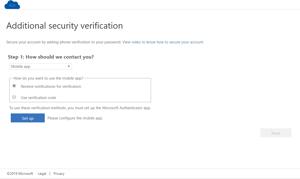 Ytterligere sikkerhetsbekreftelse med notifikasjon til Microsoft Authenticator