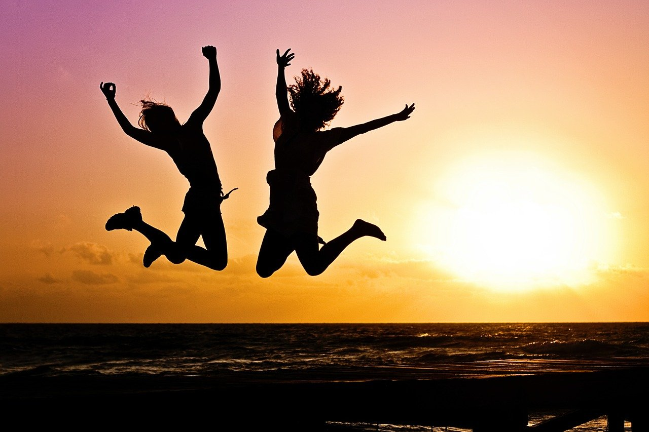 To personer som hopper - 2faktor