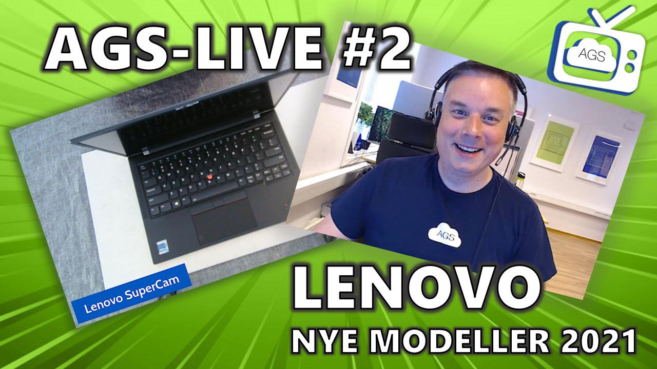 Lyst på ny PC? - Nye Lenovo modellene 2021