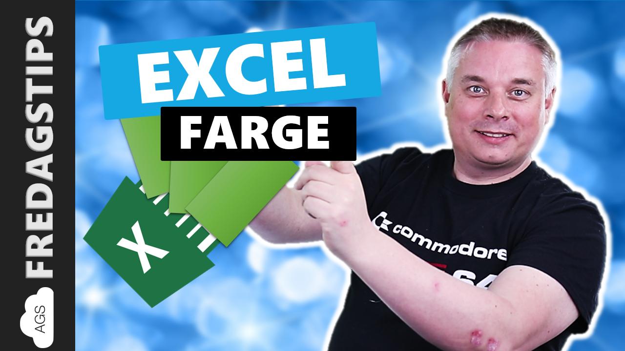 Hvordan lage datastolper i Excel