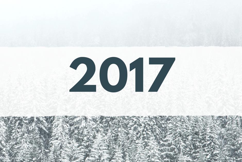 Et nytt år er i gang. Takk for det gamle og velkommen inn i det nye!