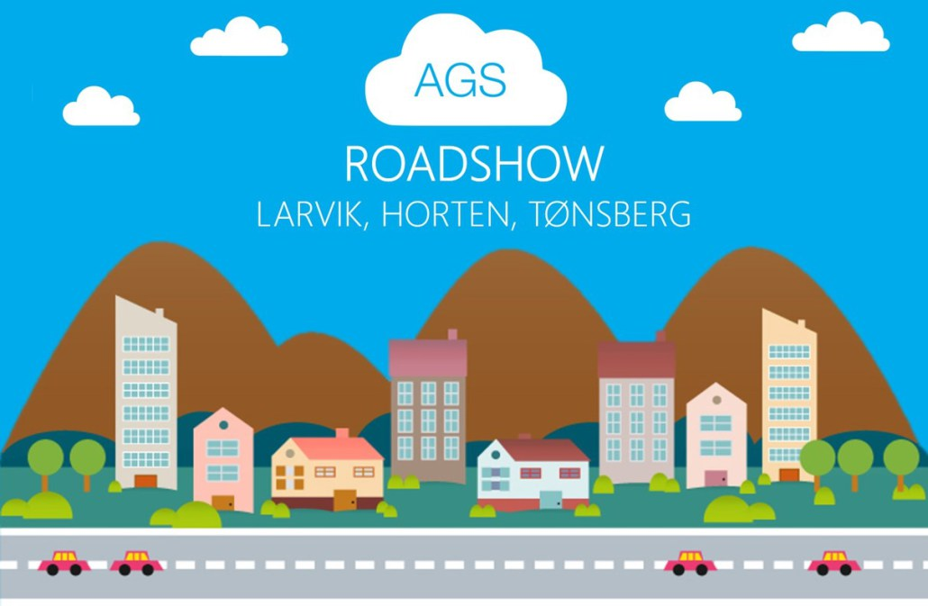 AGS Roadshow avslutter i Tønsberg torsdag 10.mars