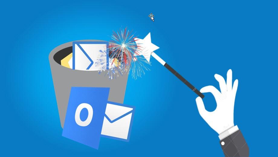 Hvordan automatisk tømme slettede elementer i Outlook