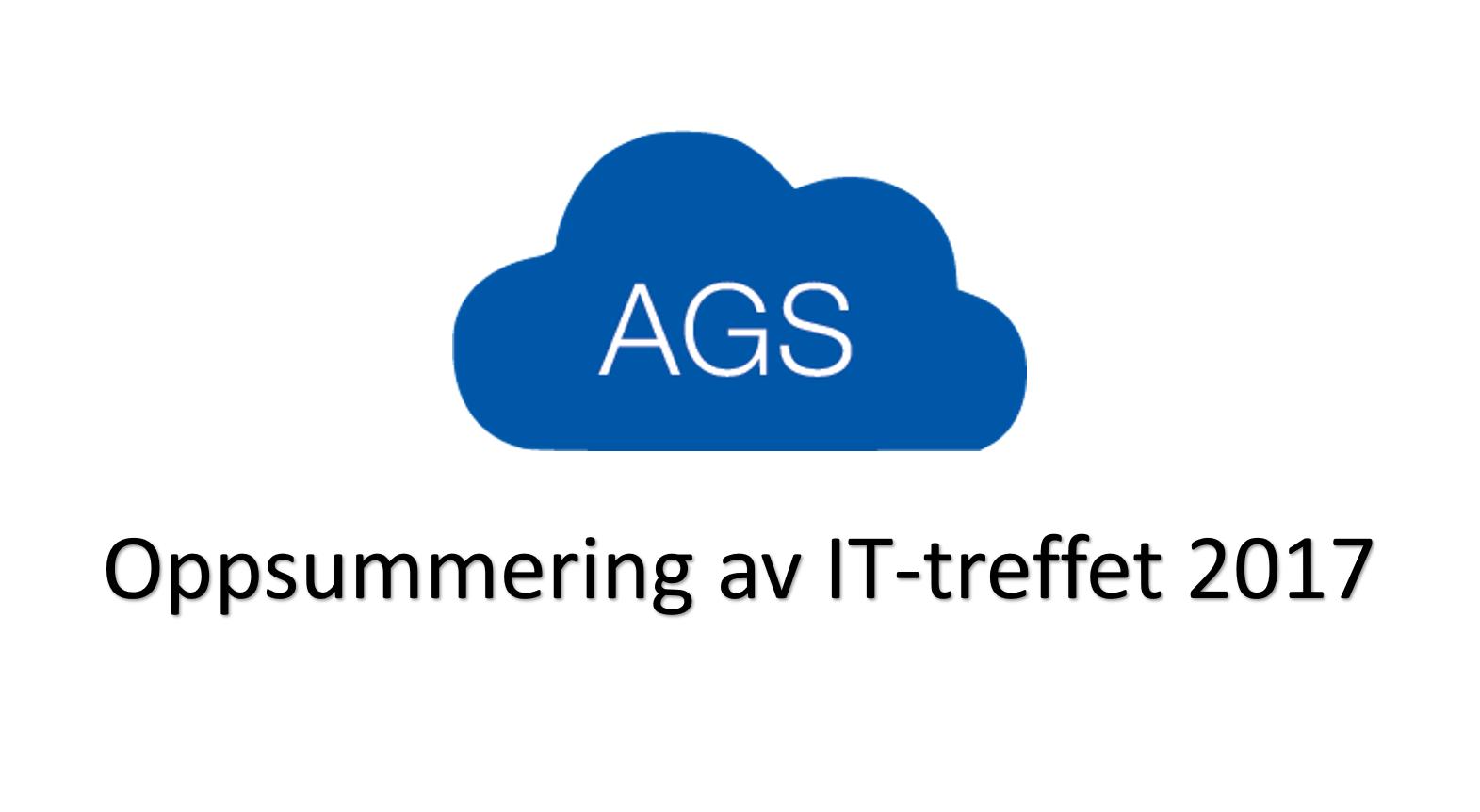 Oppsummering av IT-treffet 2017