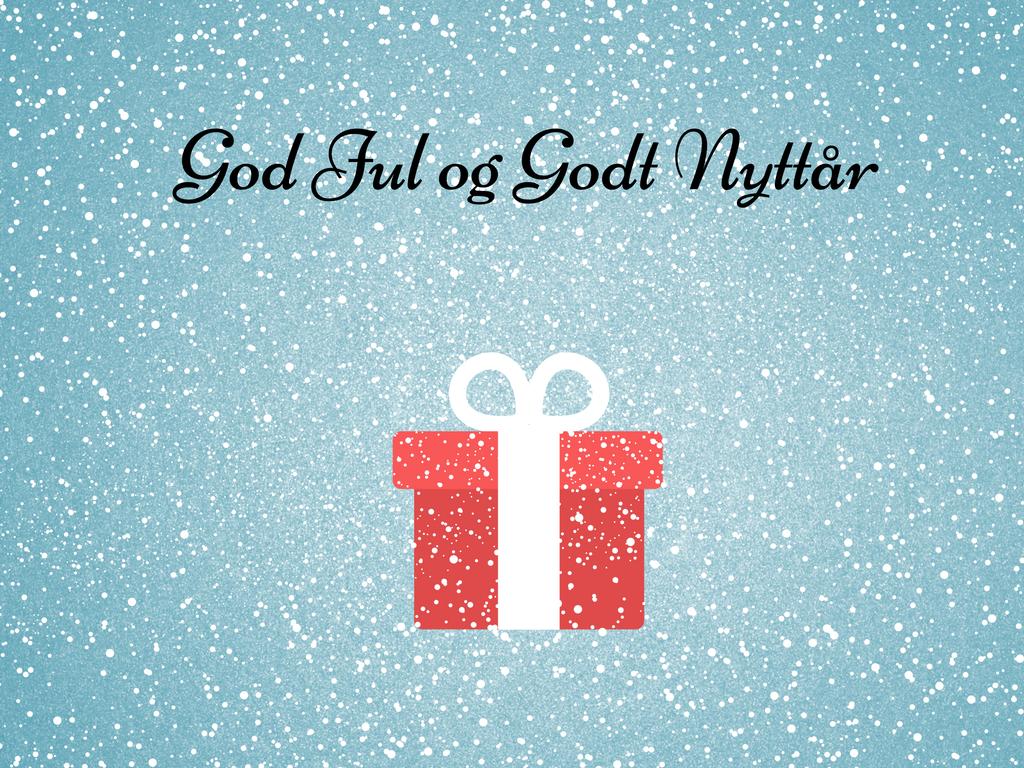 Riktig God Jul - Bloggen er tilbake i 2017
