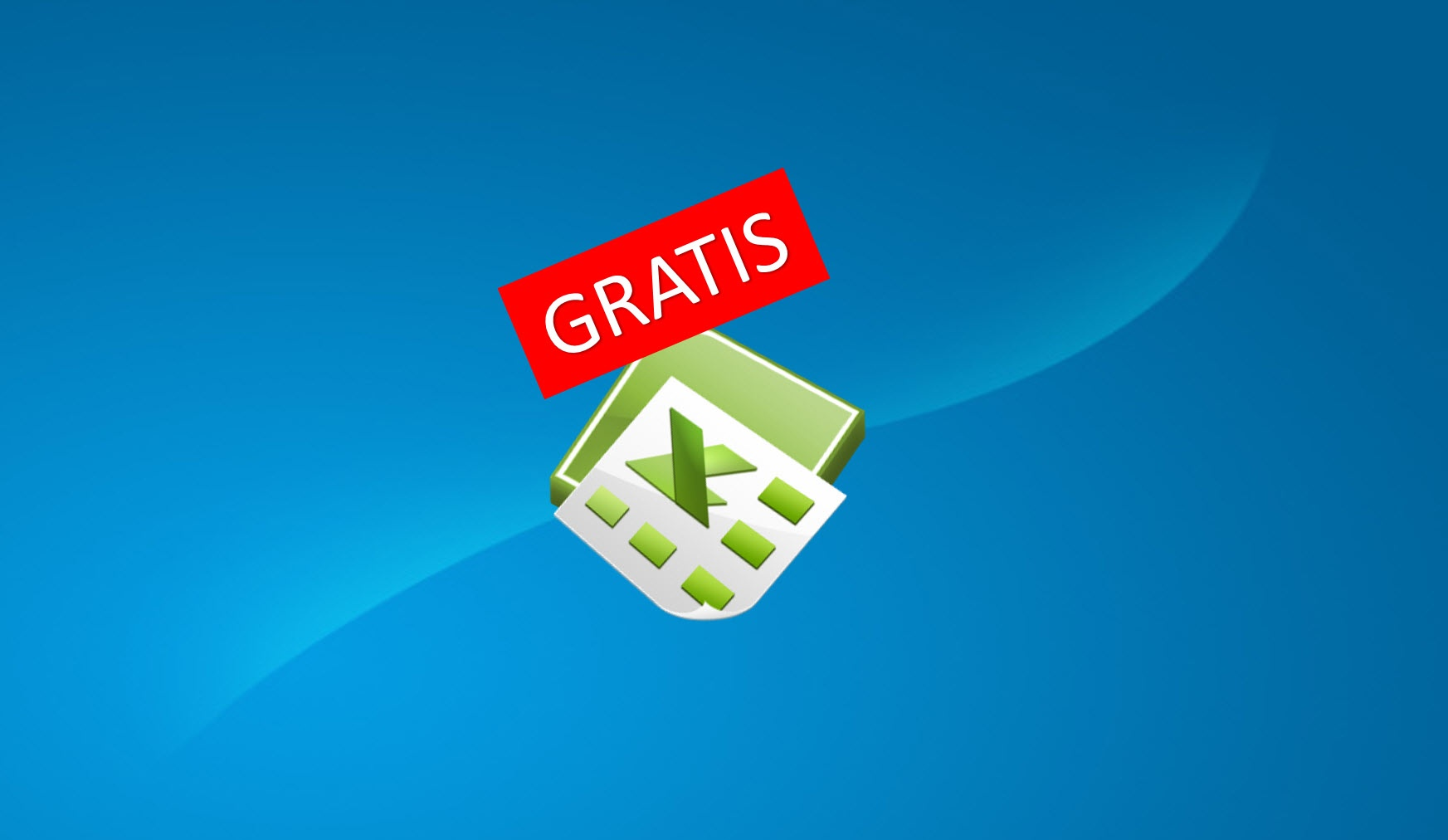 Enkel grafisk prosjektvisning i GRATIS Excel mal.