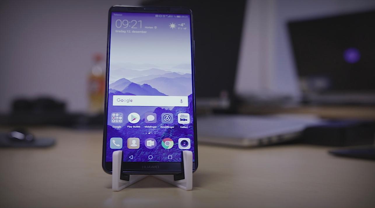 Unboxing og sniktitt på Huawei Mate 10 Pro