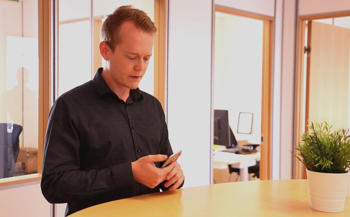 Hvordan booke et Microsoft Teams møte med mobilen