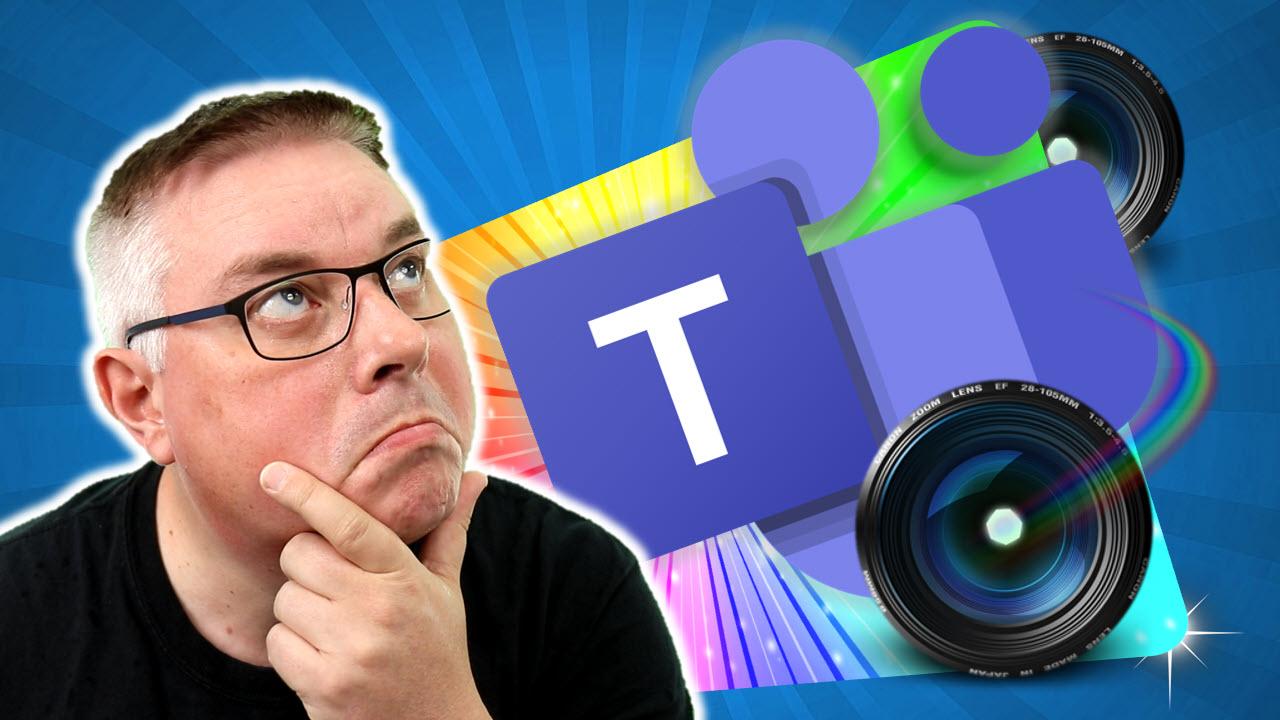 Hvordan bruke flere kamera på Microsoft Teams