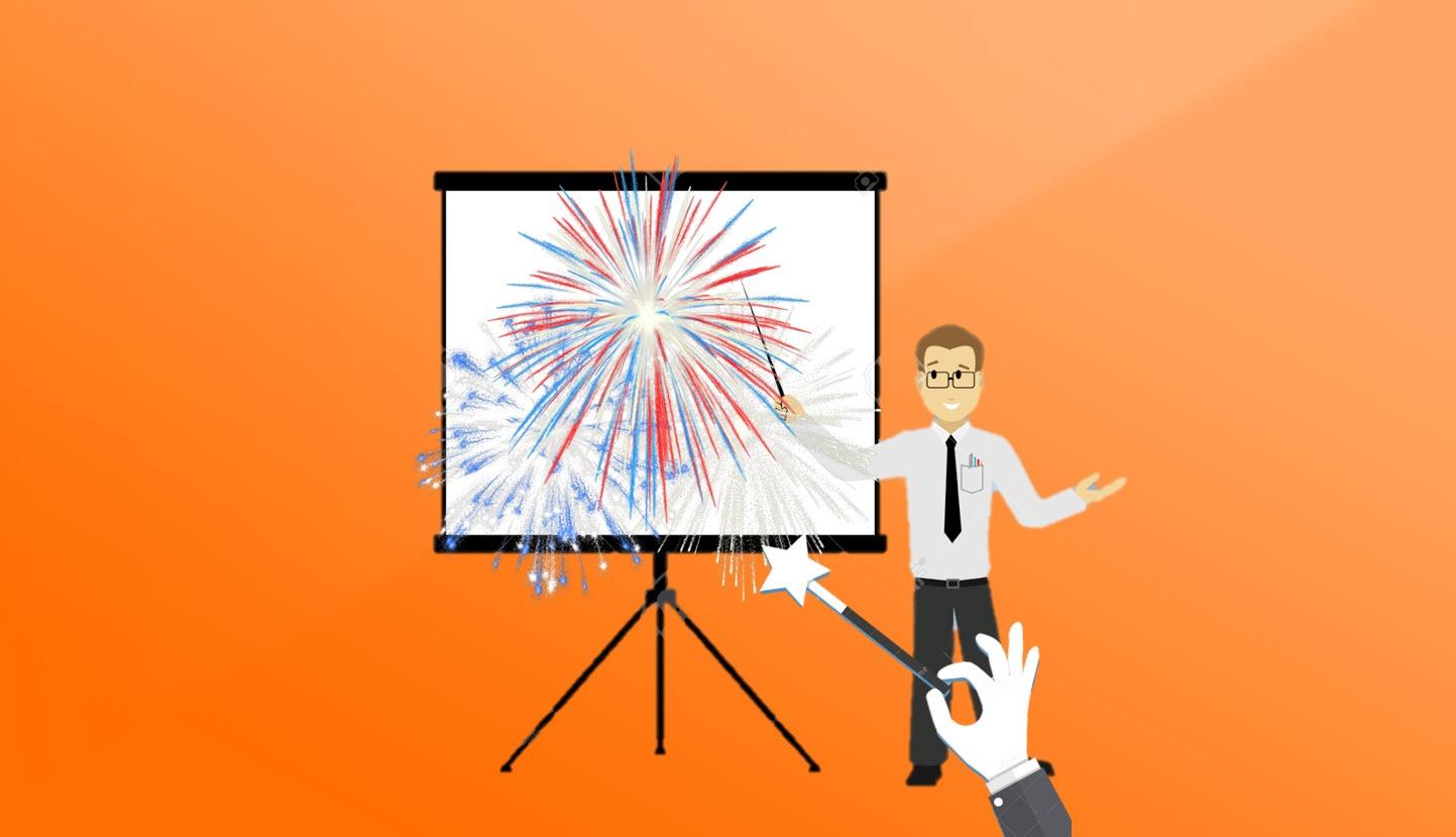 Hvordan lage stilige presentasjoner med MORPH i Powerpoint